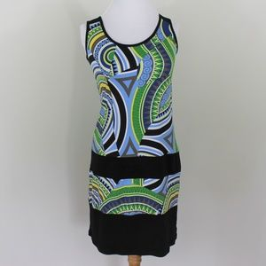 Papillion Blanc Sleevless Bodycon Dress Blue S 2 4